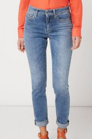 Cambio Italian bleached 'Parla' jeans