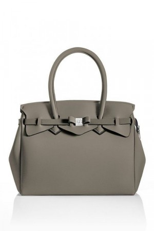 Save My Bag Taupe 'Miss Pluss' veske