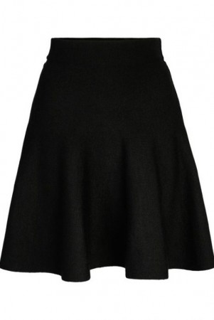 Ella&il Sort Triny Merino Skirt