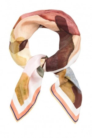 Katrin Uri 'Dried Flowers silk Scarf'