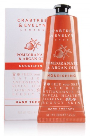 Crabtree & Evelyn Pomegranate & Arganoil håndkrem 100ml