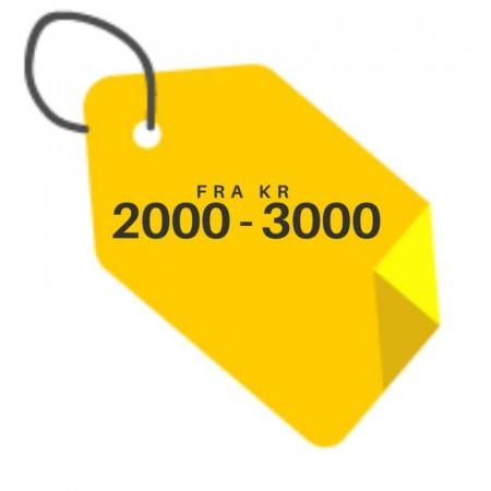 Fra 2000 - 3000