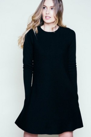Ella&il Sort 'Cecilie Merino Dress'