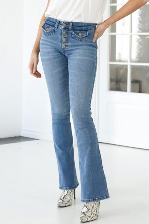 Lois Denim Light Blue 'Yoko' - Harry Stone flare jeans L34