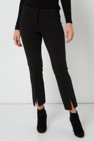 sort bukse med splitt
