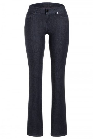 Cambio Denim Dark Blue 'Lola Flared' flare råjeans L34