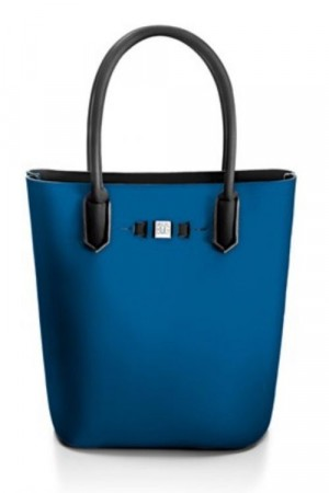 Save My Bag Nottingham Blue 'Popstar' shopper