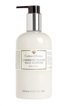 Crabtree & Evelyn Caribbean Island Wild Flower Body Lotion 300 ml