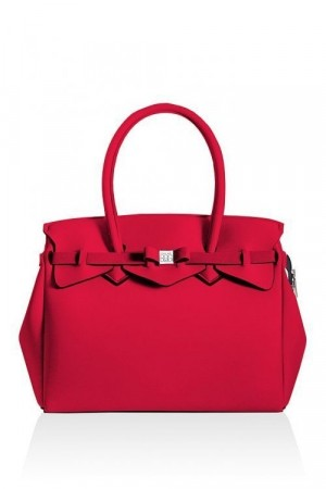 Save My Bag Watermelon red 'Miss Plus' veske