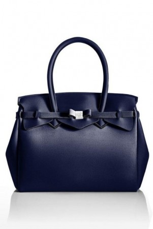 Save My Bag Marine 'Miss metallic' veske